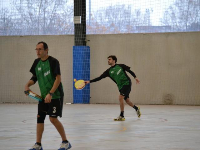 Galeria: Semifinals Lliga Catalana de tamborí indoor masculina 2017