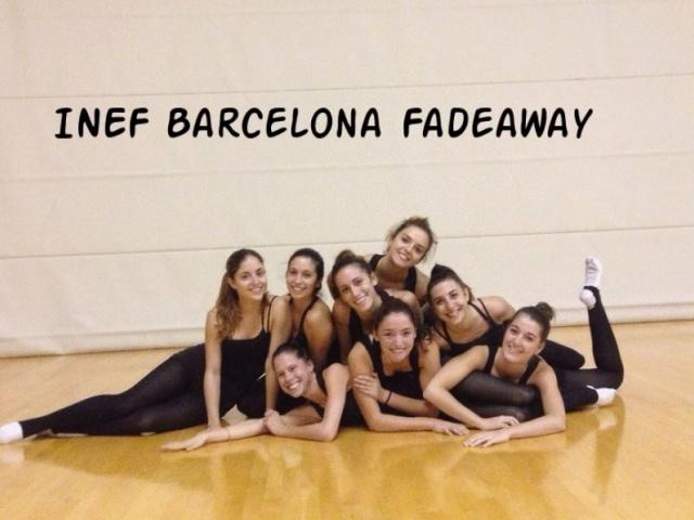 Galeria: Equip Gimnàstica Estètica 2014-2015 Club Esportiu INEF Barcelona