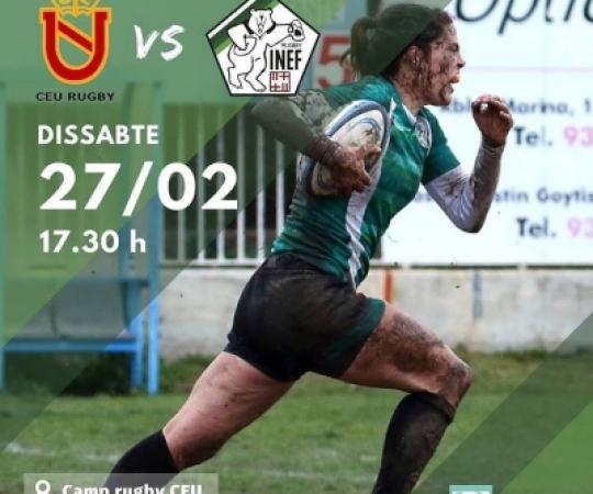 Prèvia: CEU vs INEF Barcelona, J1 Divisió Honor Catalana rugby femení 2020-2021