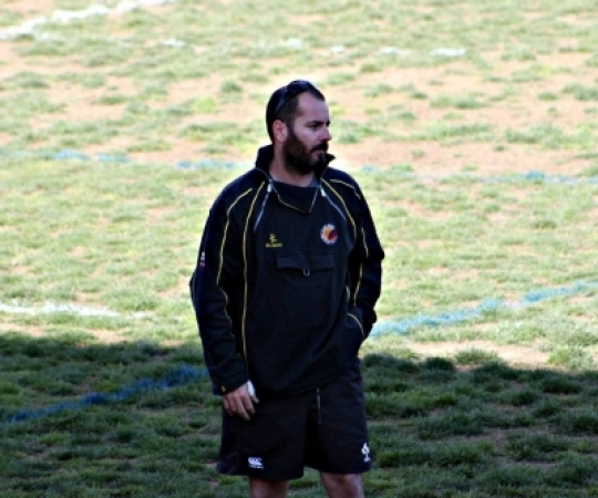 Joan Codina, nou entrenador de l'equip de rugby femení