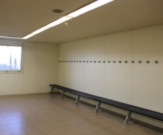 El Club habilitarà l'ús dels vestidors a partir de dilluns 8 de març