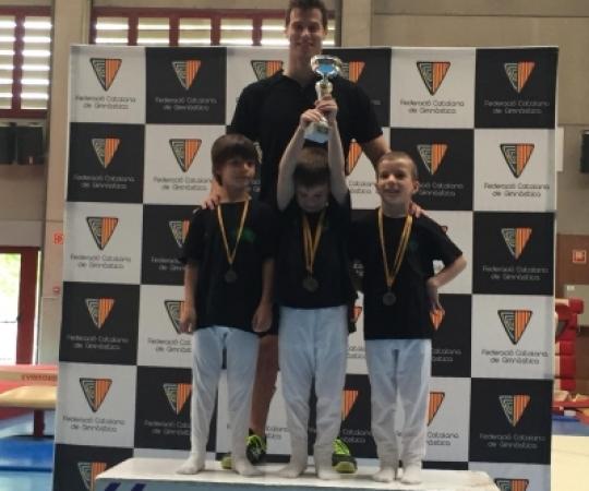 Resultats de la 3ª Fase Copa Catalunya de GAM - Promoció - Base - Via Olímpica a Salt